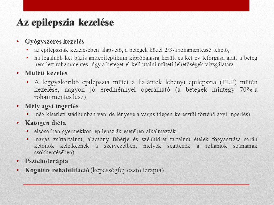 Az epilepszia kezelése
