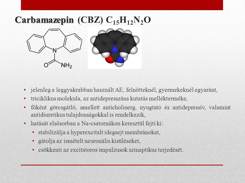 Carbamazepin (CBZ) C15H12N2O