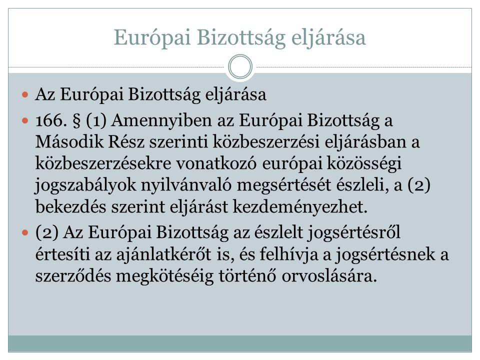 Európai Bizottság eljárása