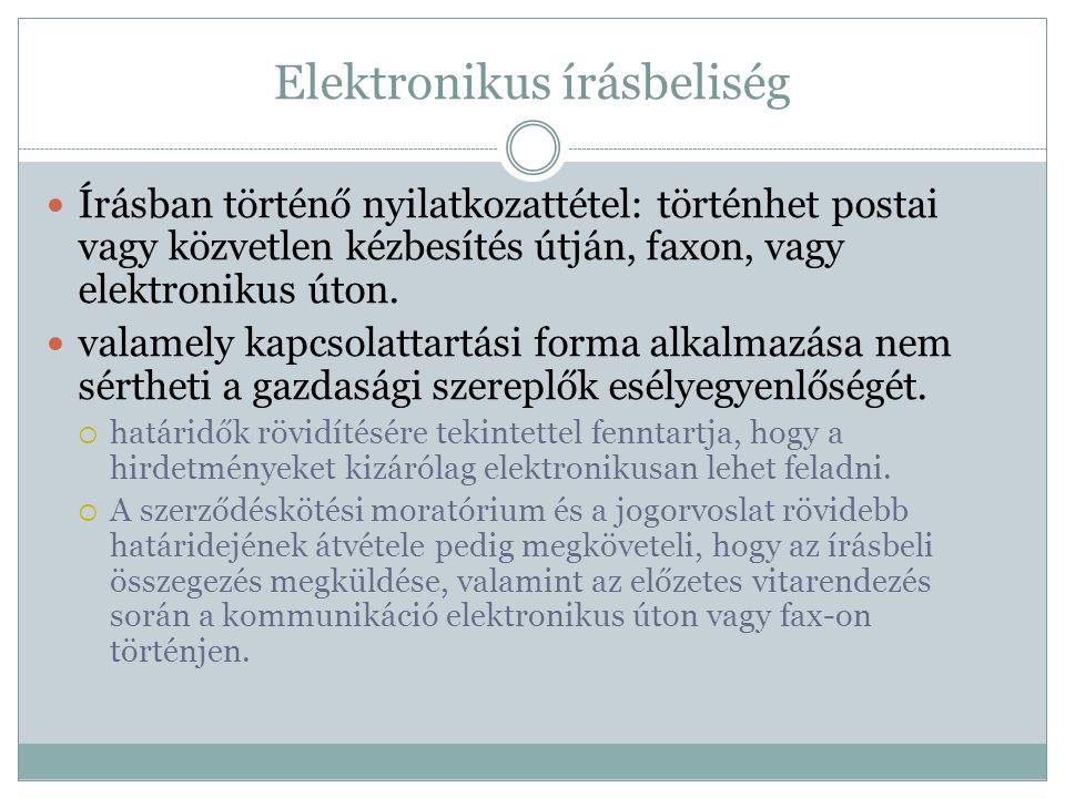 Elektronikus írásbeliség