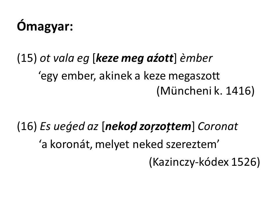 Ómagyar: