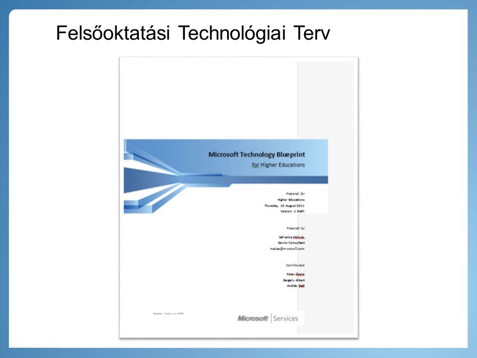 Felsőoktatási Technológiai Terv