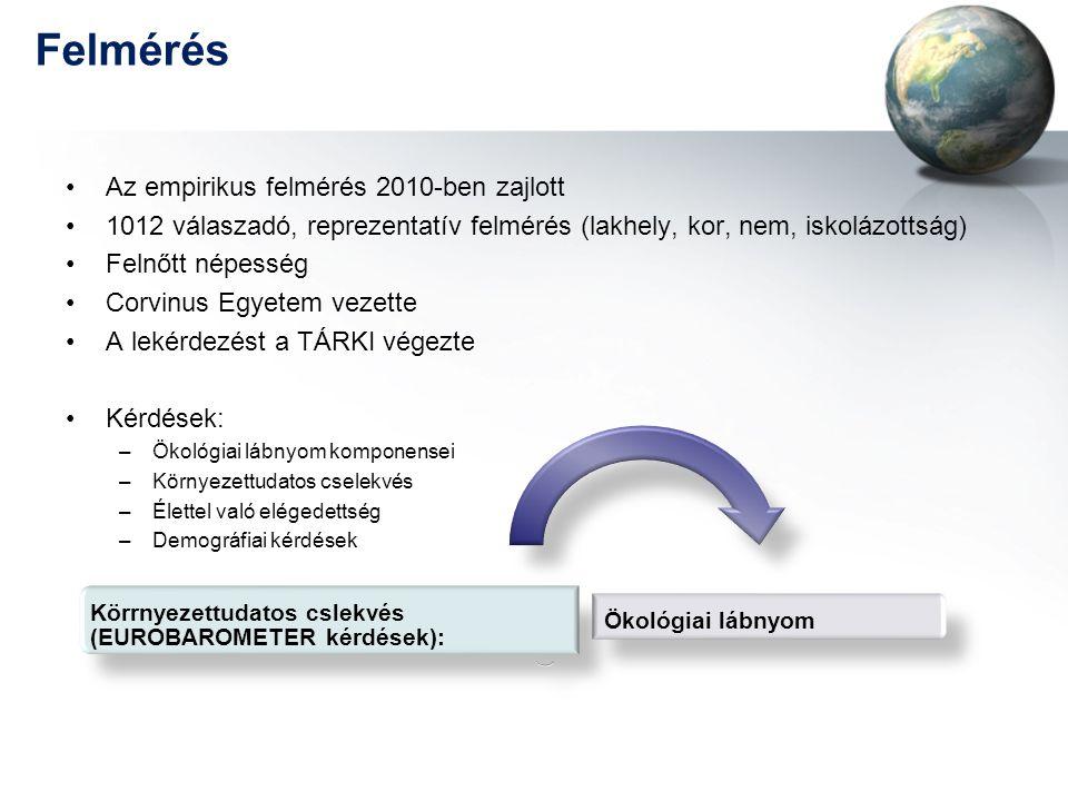 Felmérés Az empirikus felmérés 2010-ben zajlott