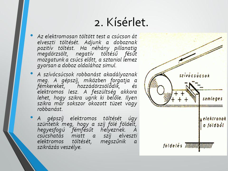 2. Kísérlet.