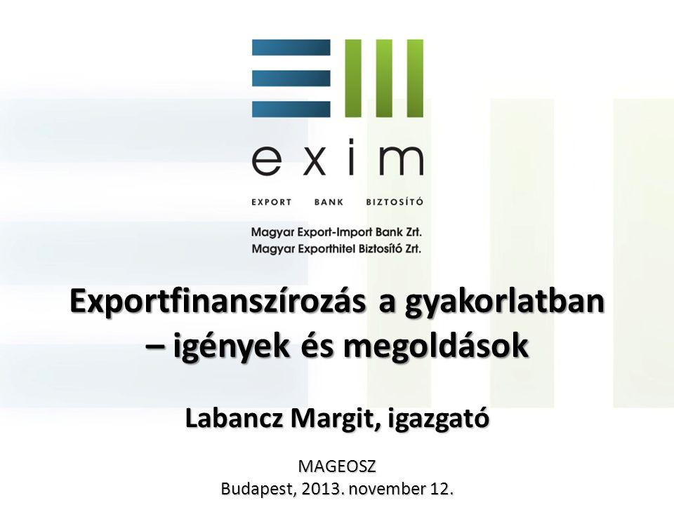 Exportfinanszírozás a gyakorlatban – igények és megoldások