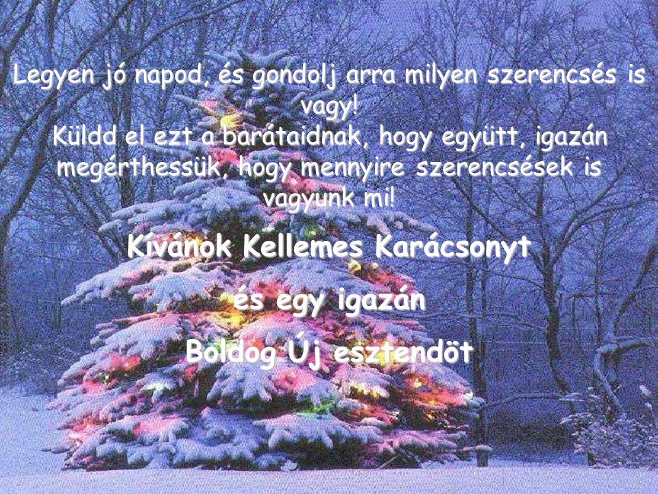 Kívánok Kellemes Karácsonyt