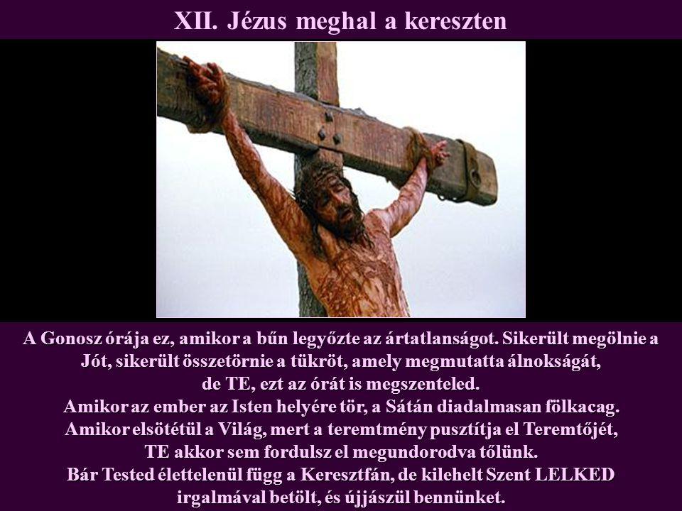 XII. Jézus meghal a kereszten