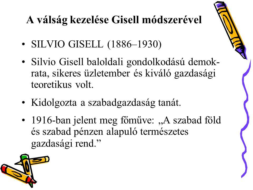 A válság kezelése Gisell módszerével