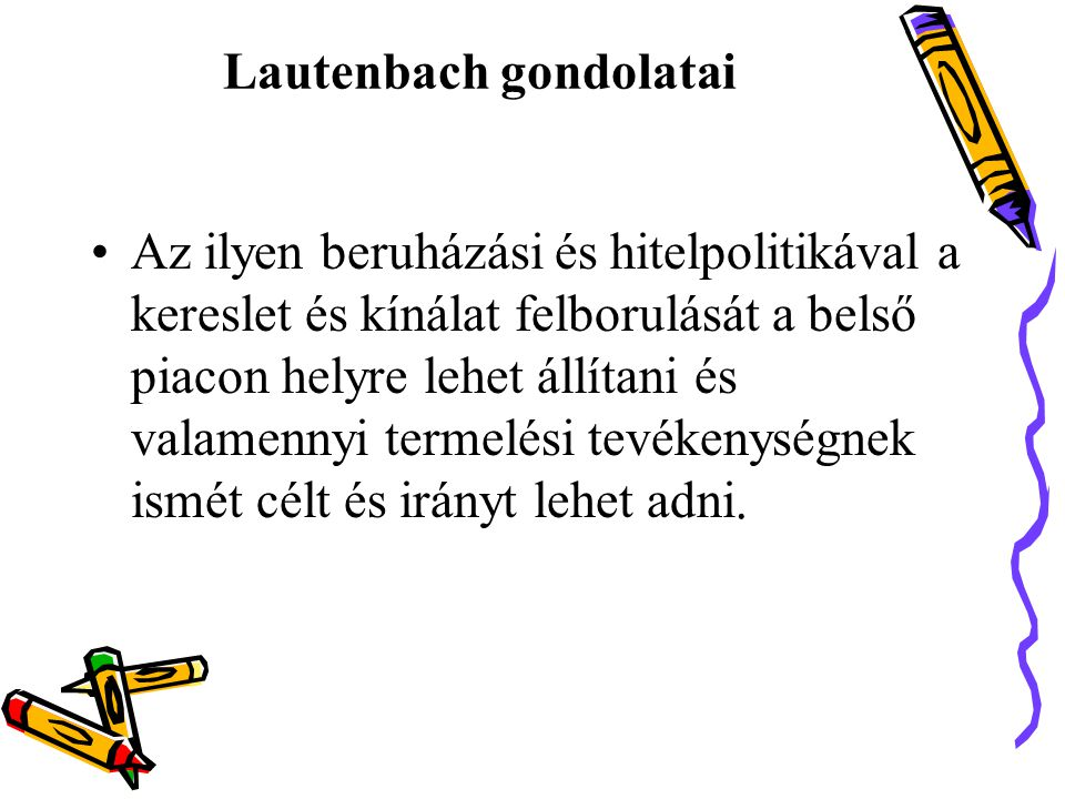 Lautenbach gondolatai