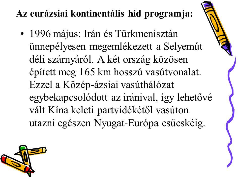 Az eurázsiai kontinentális híd programja: