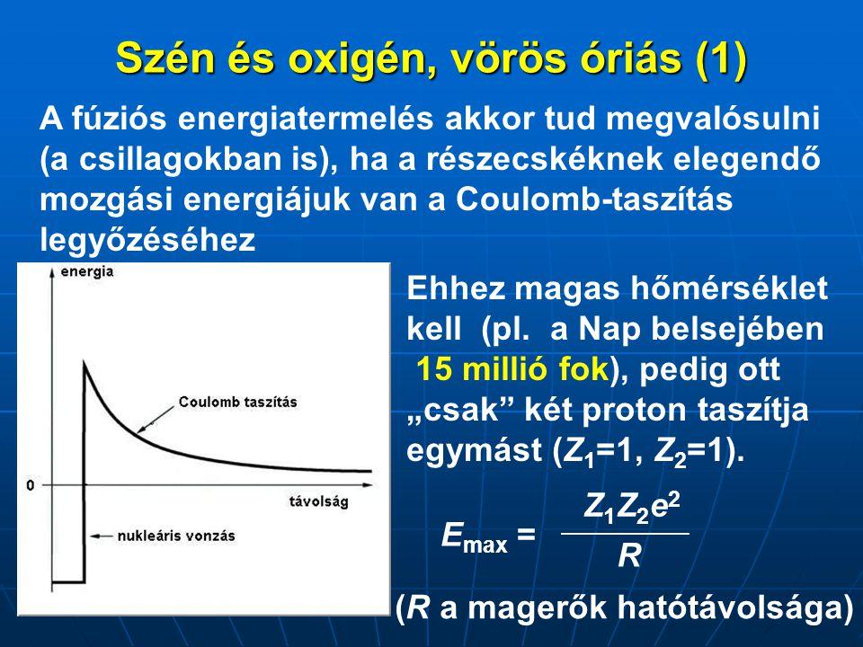 Szén és oxigén, vörös óriás (1)
