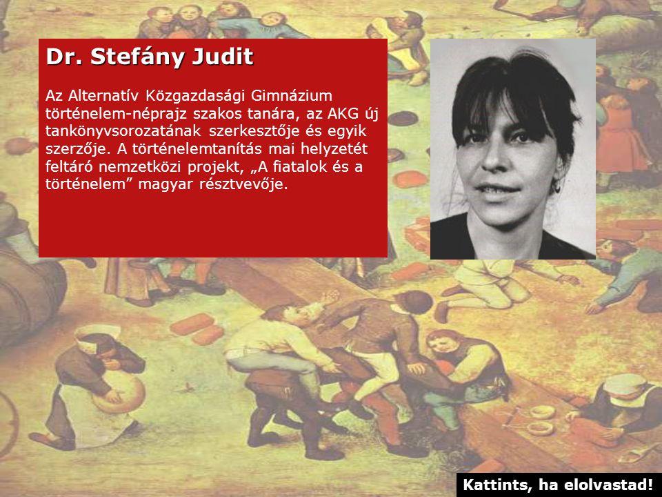 Dr. Stefány Judit