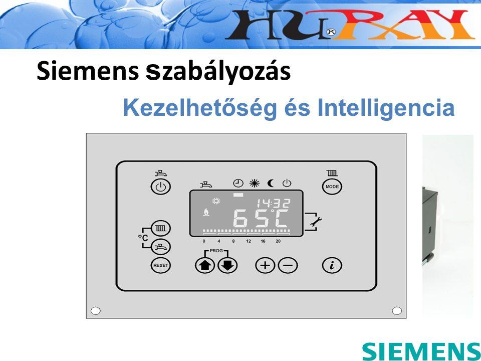 Siemens szabályozás Kezelhetőség és Intelligencia