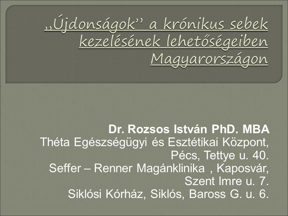 Dr. Rozsos István PhD. MBA