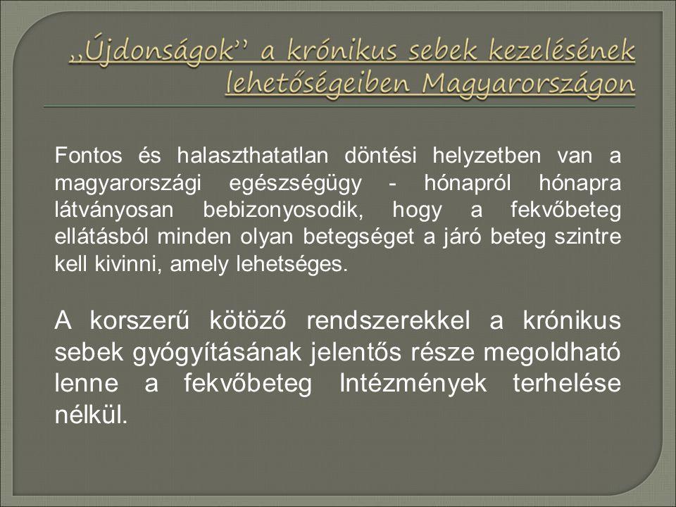Fontos és halaszthatatlan döntési helyzetben van a magyarországi egészségügy - hónapról hónapra látványosan bebizonyosodik, hogy a fekvőbeteg ellátásból minden olyan betegséget a járó beteg szintre kell kivinni, amely lehetséges.