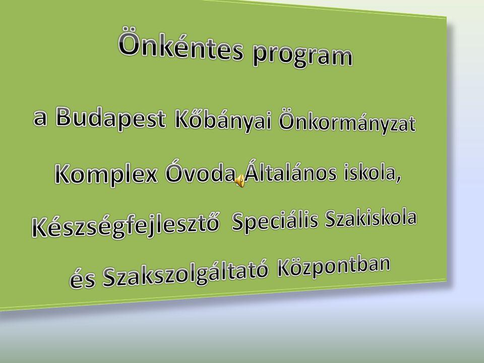 Önkéntes program a Budapest Kőbányai Önkormányzat