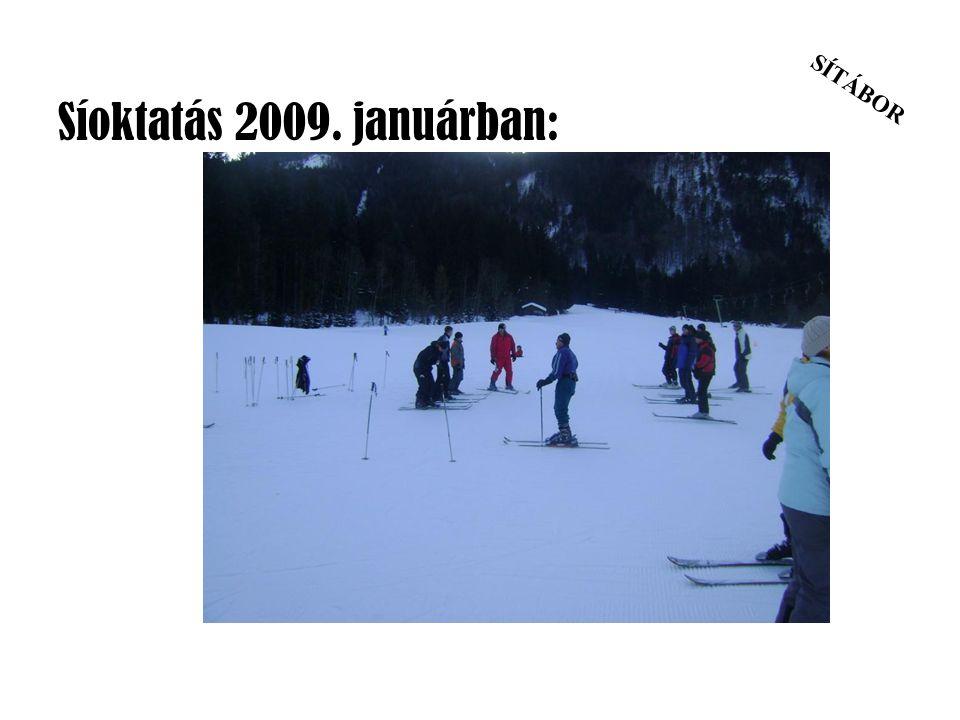 Síoktatás 2009. januárban: