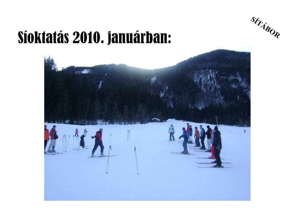Síoktatás 2010. januárban: