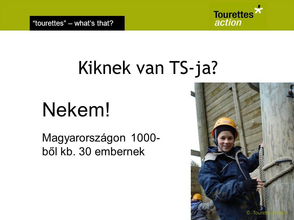Nekem! Kiknek van TS-ja Magyarországon 1000-ből kb. 30 embernek