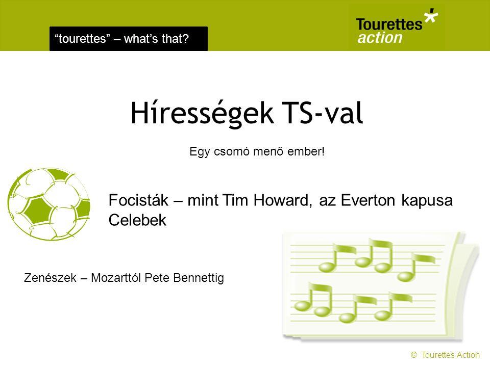 Hírességek TS-val Focisták – mint Tim Howard, az Everton kapusa