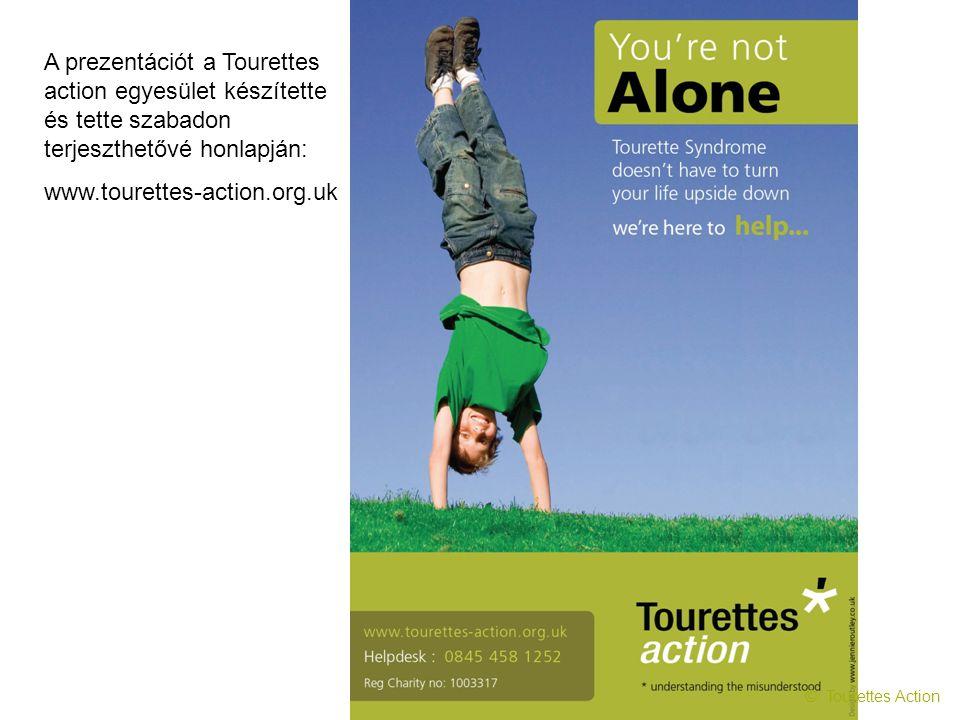 A prezentációt a Tourettes action egyesület készítette és tette szabadon terjeszthetővé honlapján: