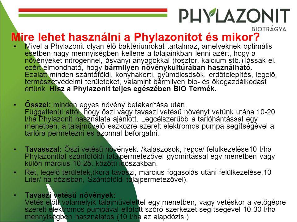 Mire lehet használni a Phylazonitot és mikor