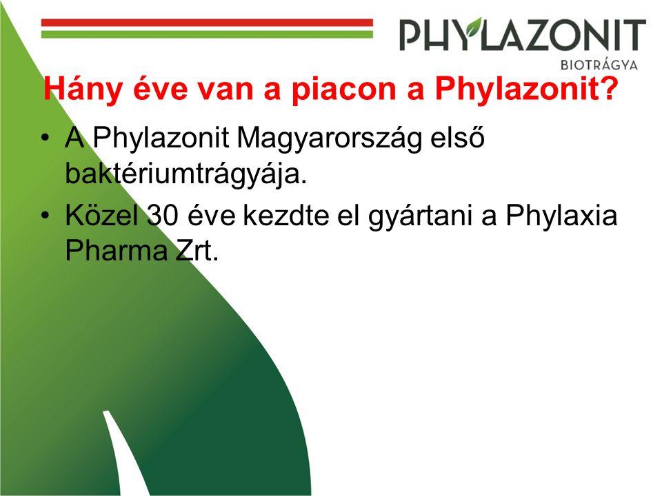 Hány éve van a piacon a Phylazonit