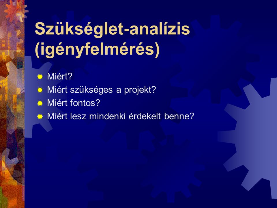 Szükséglet-analízis (igényfelmérés)