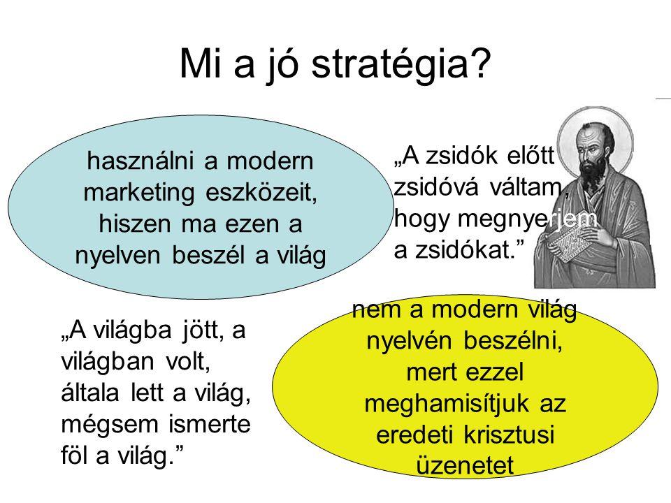 Mi a jó stratégia használni a modern marketing eszközeit, hiszen ma ezen a nyelven beszél a világ.