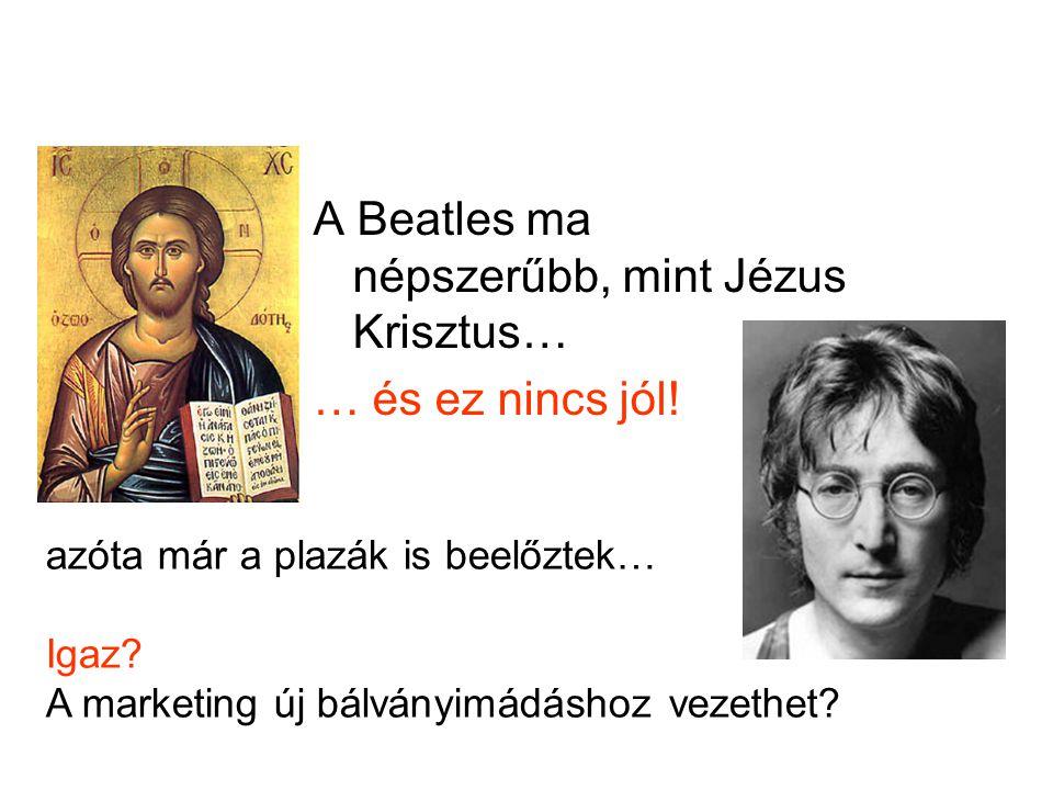 A Beatles ma népszerűbb, mint Jézus Krisztus…