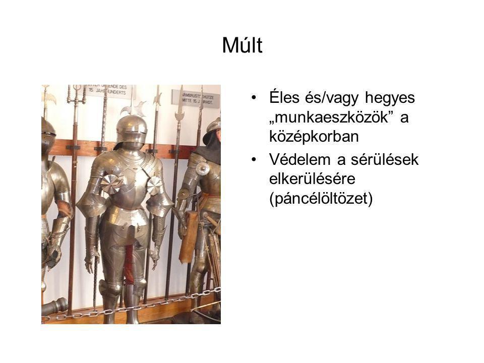 """Múlt Éles és/vagy hegyes """"munkaeszközök a középkorban"""