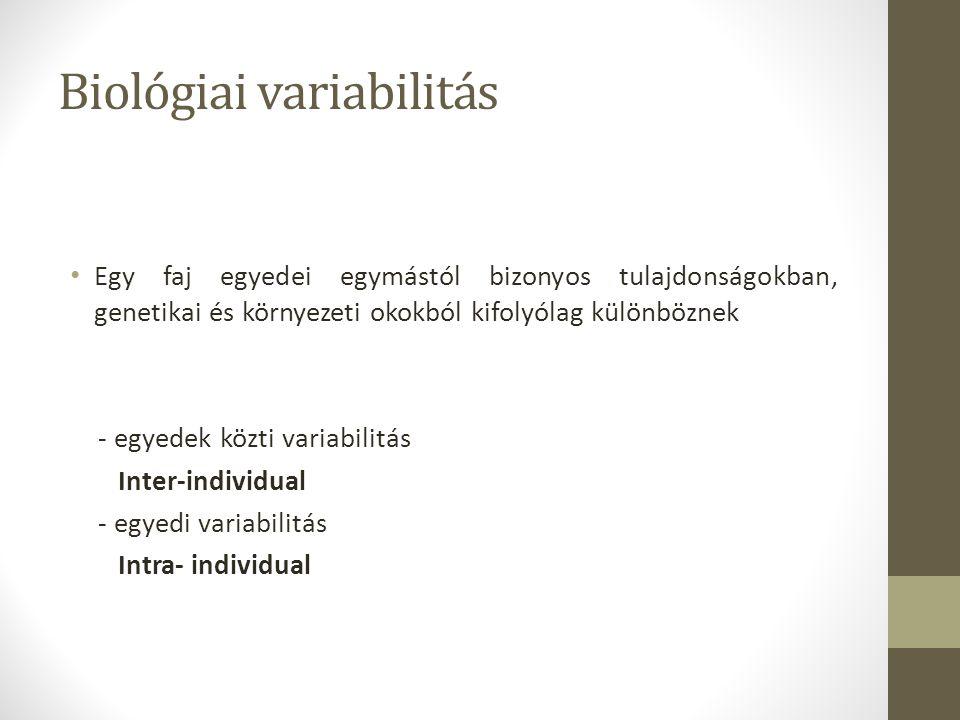 Biológiai variabilitás