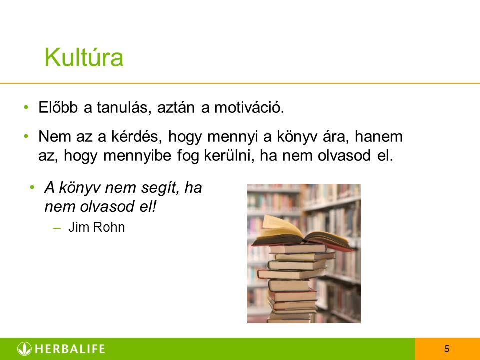 Kultúra Előbb a tanulás, aztán a motiváció.
