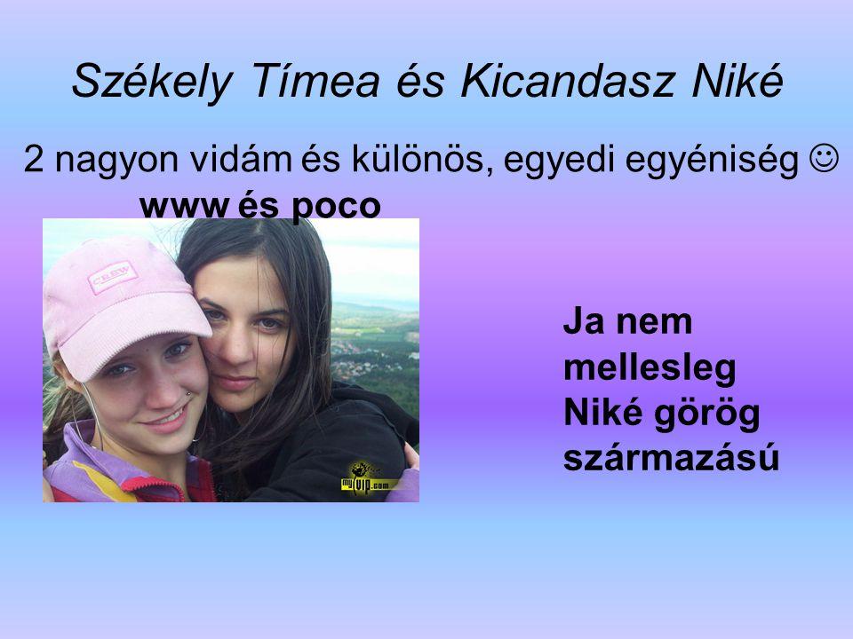 Székely Tímea és Kicandasz Niké