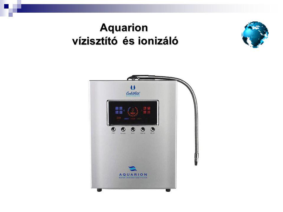 Aquarion és ionizáló vízisztító