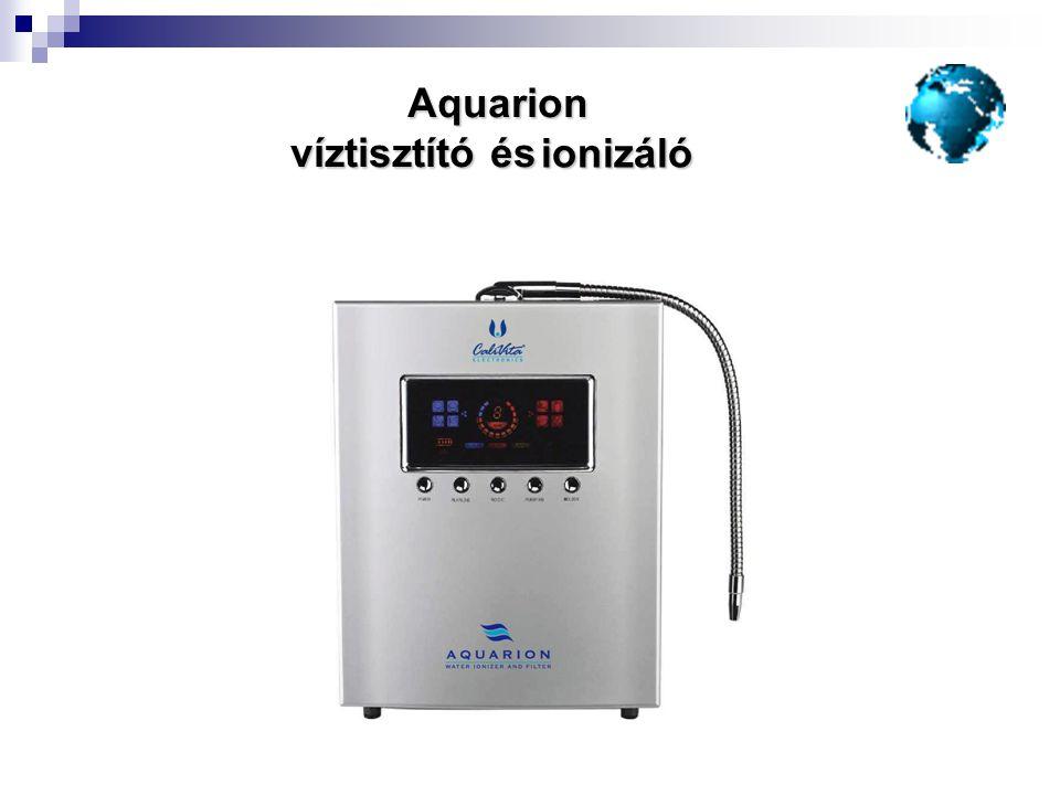 Aquarion víztisztító és ionizáló