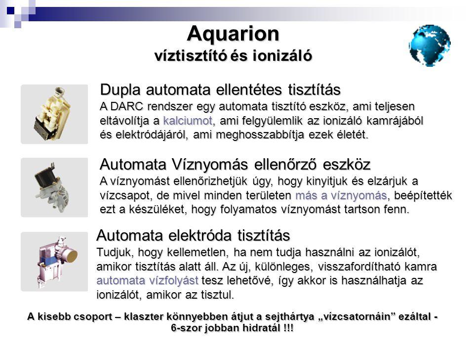 víztisztító és ionizáló