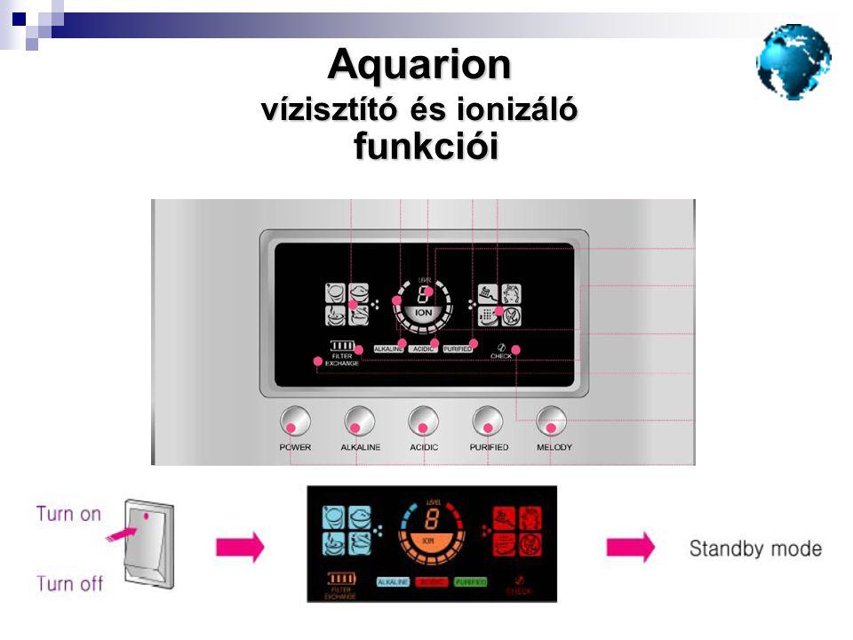 vízisztító és ionizáló