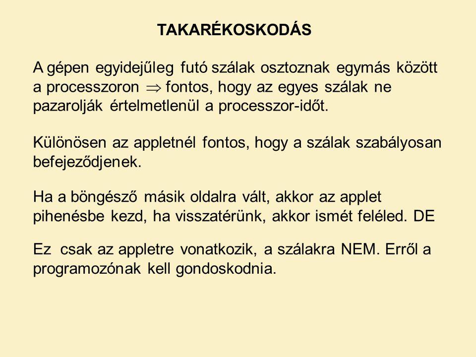 TAKARÉKOSKODÁS