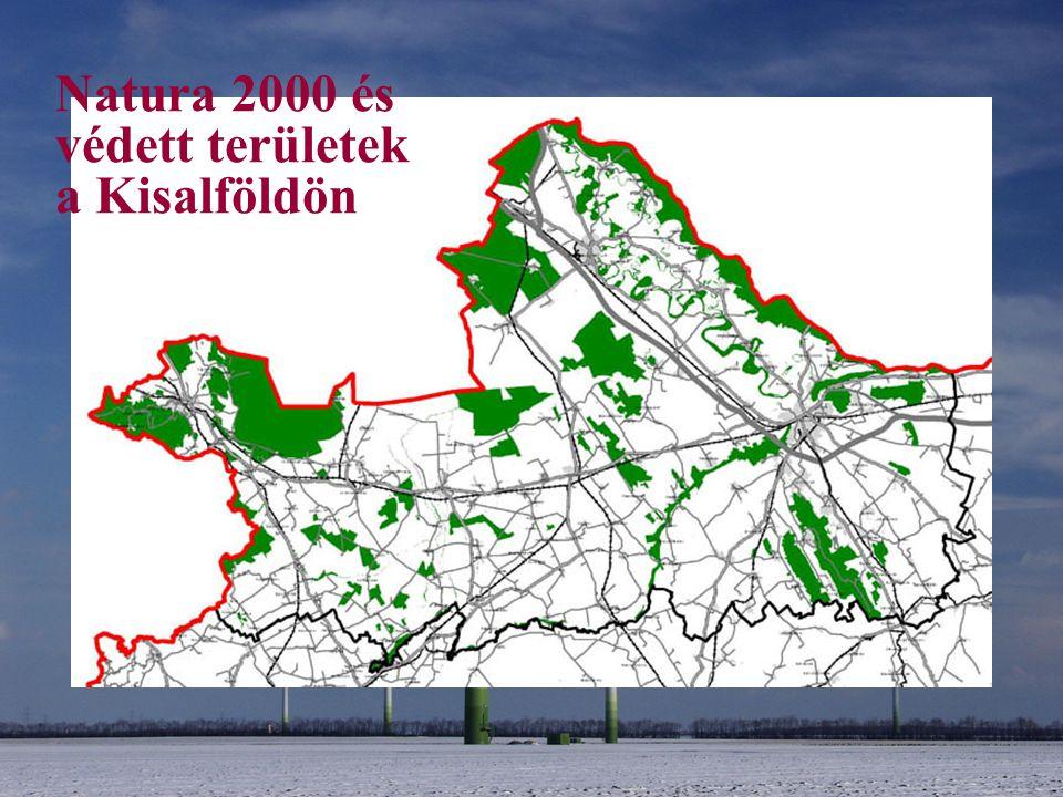 Natura 2000 és védett területek a Kisalföldön