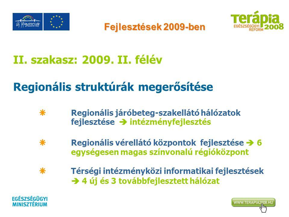 Regionális struktúrák megerősítése