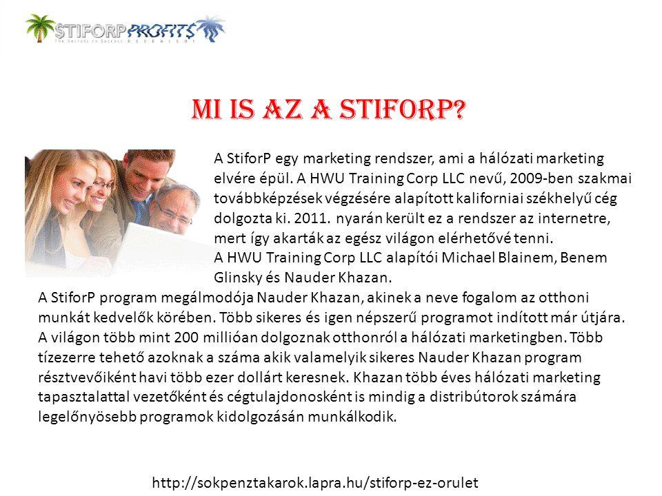 Mi is az a StiforP