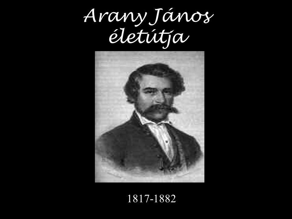 Arany János életútja 1817-1882