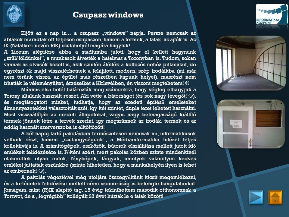 Csupasz windows