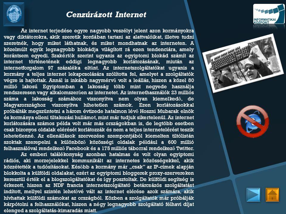 Cenzúrázott Internet