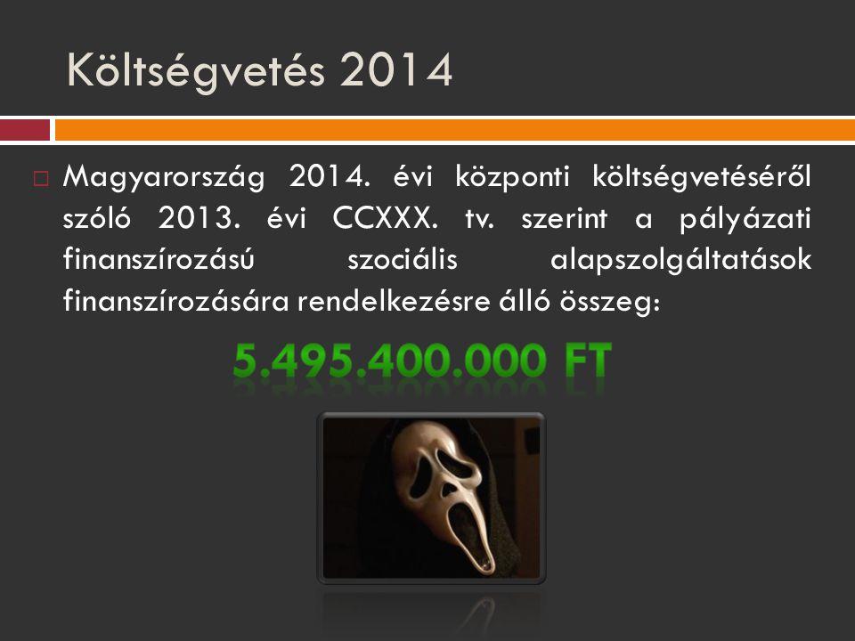 Költségvetés 2014