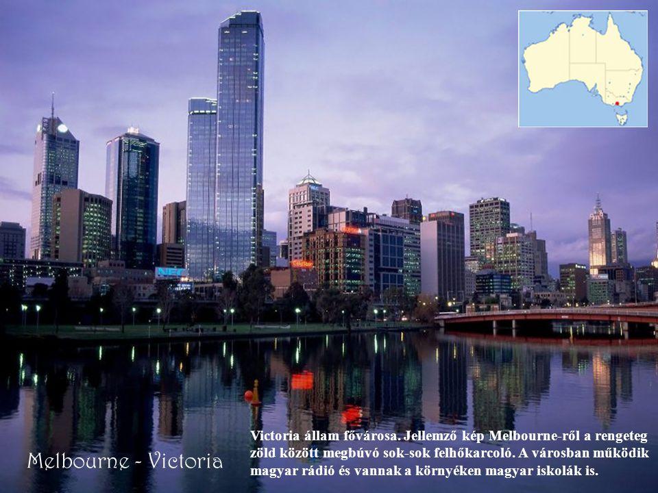 Victoria állam fővárosa
