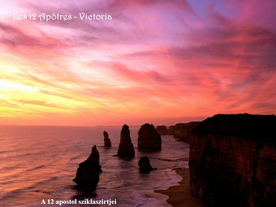 Les 12 Apôtres - Victoria A 12 apostol sziklaszirtjei