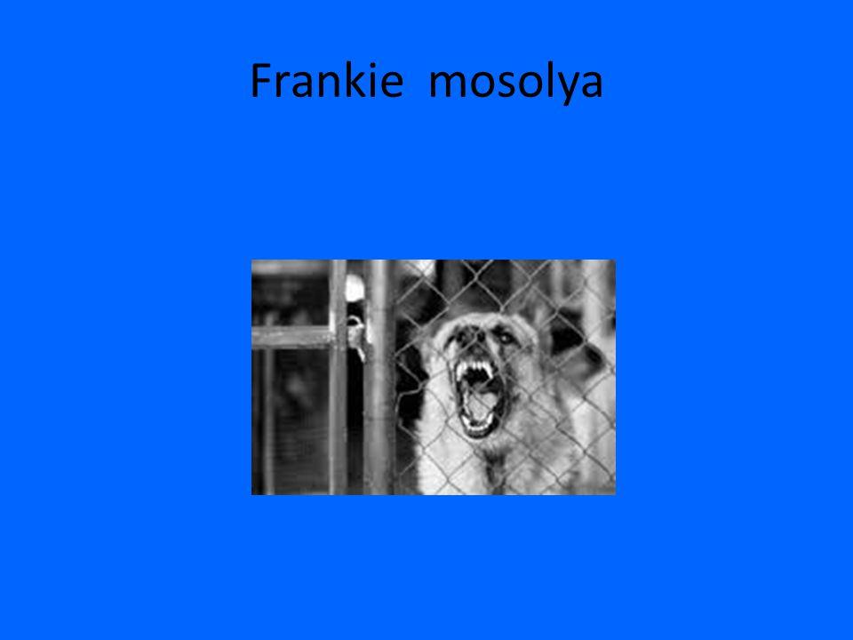 Frankie mosolya