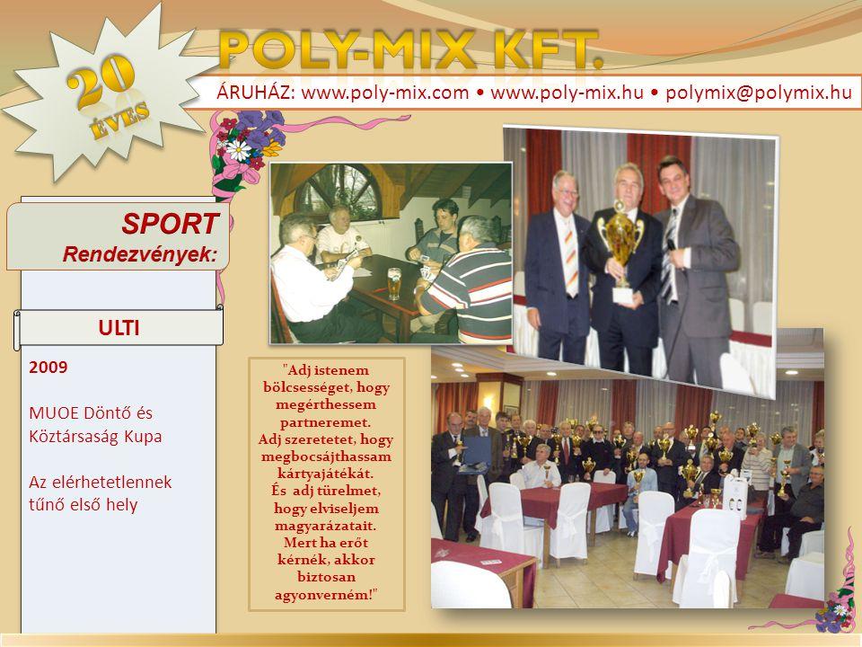 Poly-Mix Kft. 20 SPORT ULTI éves